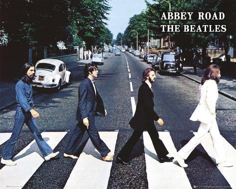 The Beatles Mini-Poster