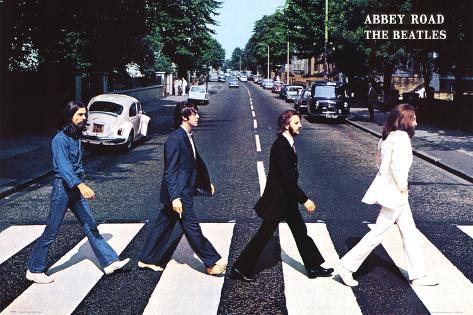 The Beatles Riesenposter