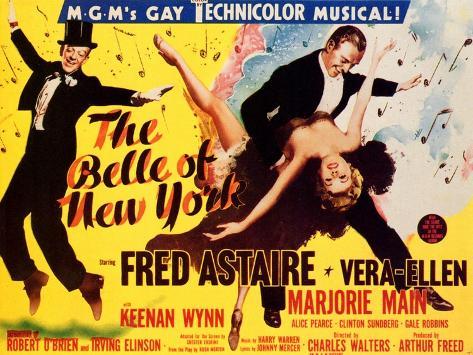 The Belle of New York, 1952 Kunstdruck