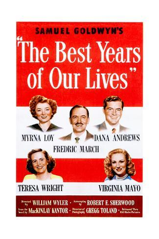 The Best Years of Our Lives, 1946 Giclée-Druck