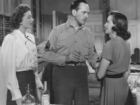The Best Years of Our Lives, Myrna Loy, Fredric March, Teresa Wright, 1946 Foto