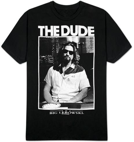 The Big Lebowski- The Dude T-Shirt