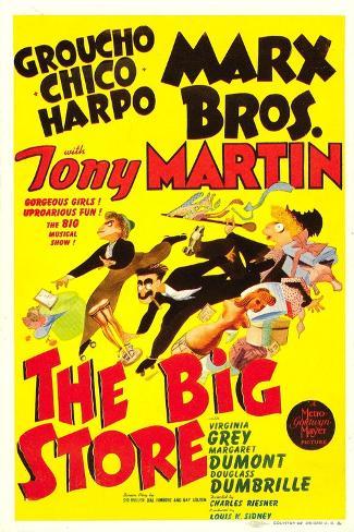 The Big Store Kunstdruck