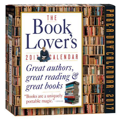 The Book Lover's Page-A-Day - 2017 Boxed Calendar Kalenders