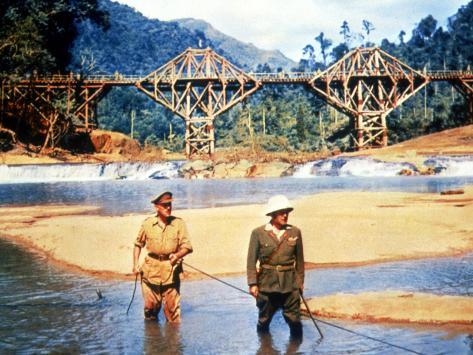 The Bridge On The River Kwai, Alec Guinness, Sessue Hayakawa, 1957 Foto