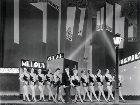 The Broadway Melody, 1929 Fotografie-Druck