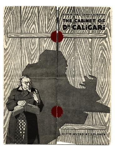 The Cabinet of Dr. Caligari, 1919 Giclée-Premiumdruck