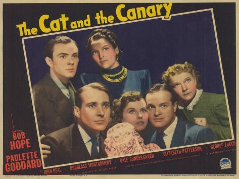 The Cat and the Canary, 1939 Giclée-Premiumdruck
