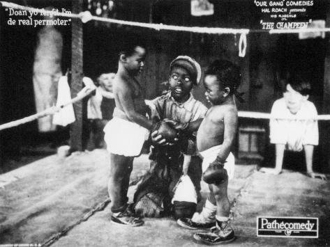 The Champeen, 1923 Kunstdruck