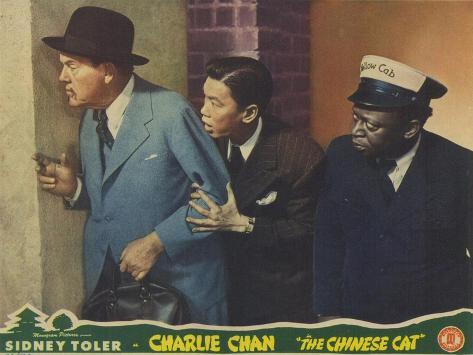 The Chinese Cat, 1944 Giclée-Premiumdruck