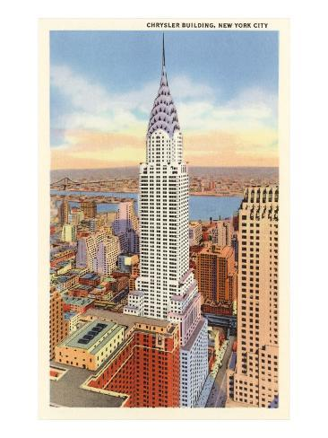 The Chrysler Building, New York City Kunstdruck