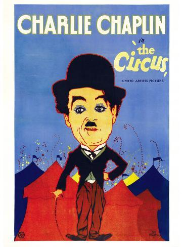 The Circus Movie, Charlie Chaplin Poster