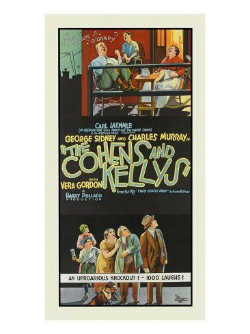 The Cohen's and the Kelly's Giclée-Premiumdruck