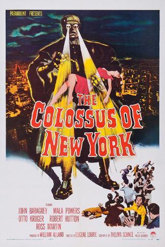 The Colossus of New York Kunstdruck