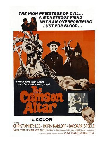 The Crimson Cult, (U.S Title: aka Crimson Altar, British Title: Curse of the Crimson Altar), 1968 Foto