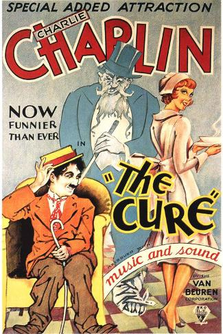 The Cure Movie Charlie Chaplin Plastic Sign Kunststof borden