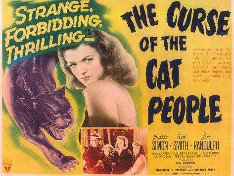 The Curse Of the Cat People, 1944 Kunstdruk