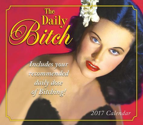 The Daily Bitch - 2017 Boxed Calendar Kalenders
