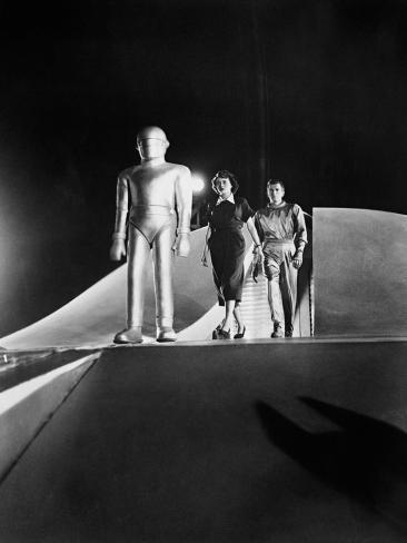 The Day the Earth Stood Still, 1951 Fotografie-Druck