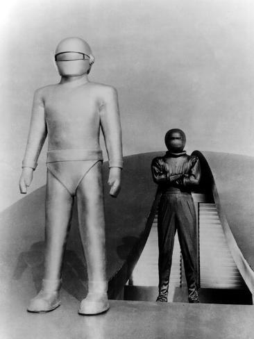 The Day the Earth Stood Still, Gort, Michael Rennie, 1951 Foto