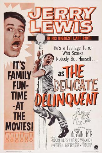 The Delicate Delinquent, Jerry Lewis, 1957 Kunstdruck