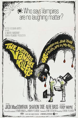 The Fearless Vampire Killers, US poster, 1967 Kunstdruck
