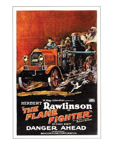 The Flame Fighter - 1925 II Giclée-Druck