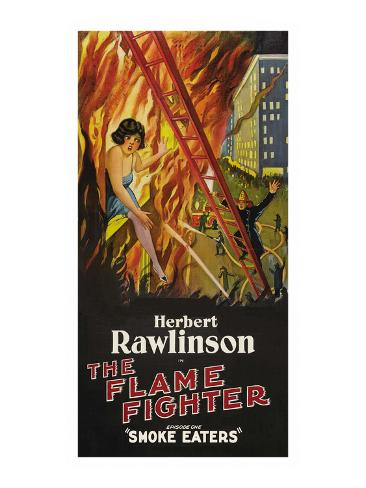 The Flame Fighter - Smoke Eaters Kunstdruck