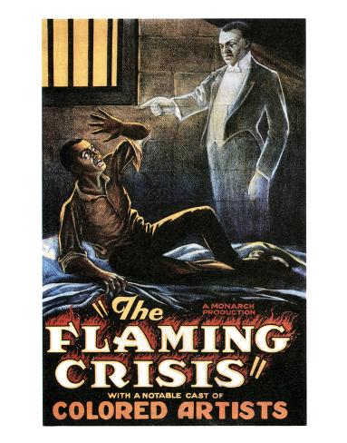 The Flaming Crisis - 1924 Giclée-Druck