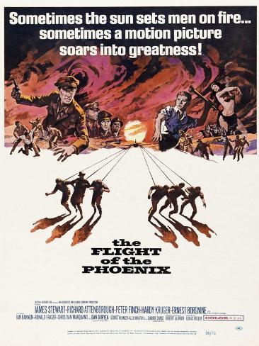 The Flight of the Phoenix, 1965, Directed by Robert Aldrich Giclée-Druck