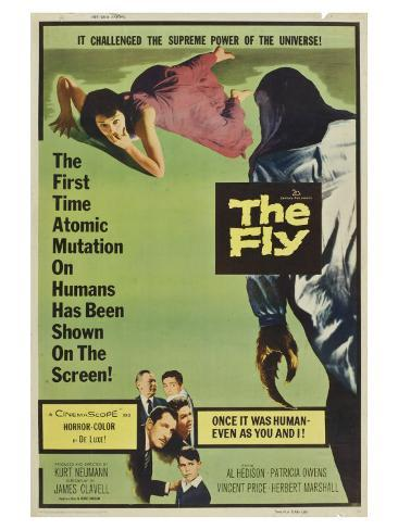The Fly, 1958 Kunstdruck