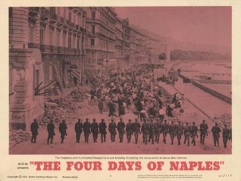 The Four Days of Naples, 1963 Kunstdruck
