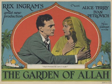 The Garden of Allah, 1927 Kunstdruck