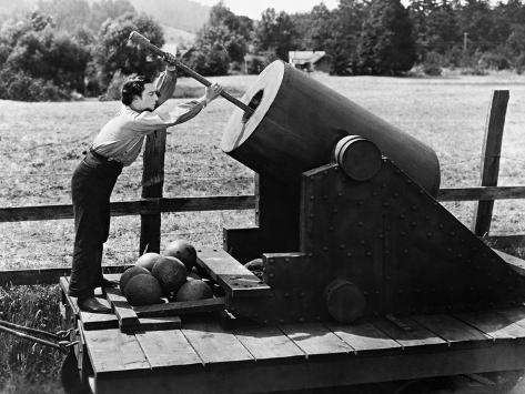 The General, 1927 Fotografie-Druck