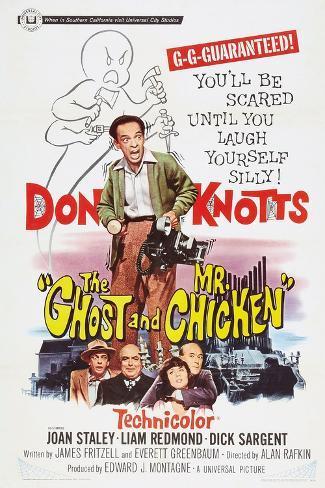 The Ghost and Mr. Chicken Kunstdruk