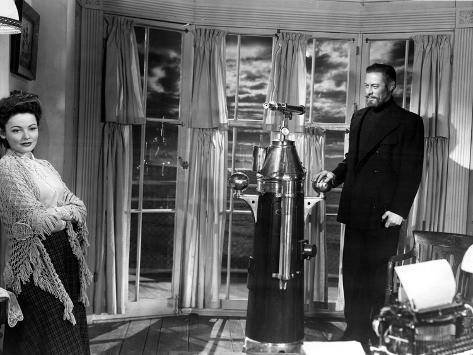 The Ghost and Mrs. Muir, Gene Tierney, Rex Harrison, 1947 Foto