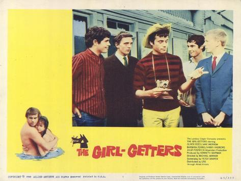 The Girl Getters, 1965 Kunstdruck