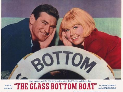 The Glass Bottom Boat, 1966 Kunstdruck