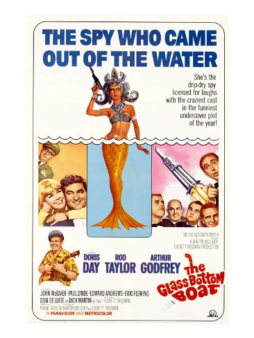 The Glass Bottom Boat, with Edward Andrews, Doris Day, Arthur Godfrey, and Rod Taylor, 1966 Foto