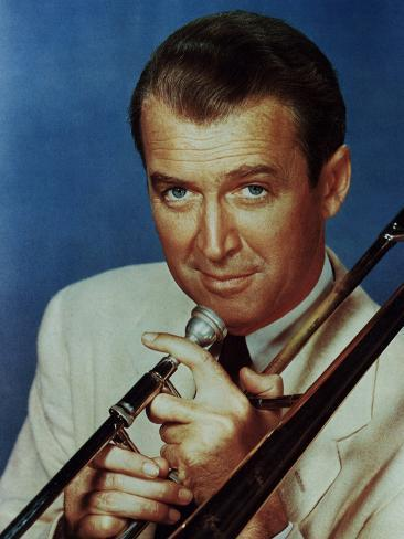 The Glenn Miller Story, James Stewart, 1954 Foto