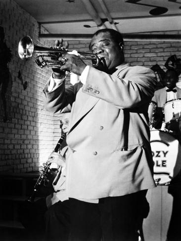 The Glenn Miller Story, Louis Armstrong, 1954 Foto