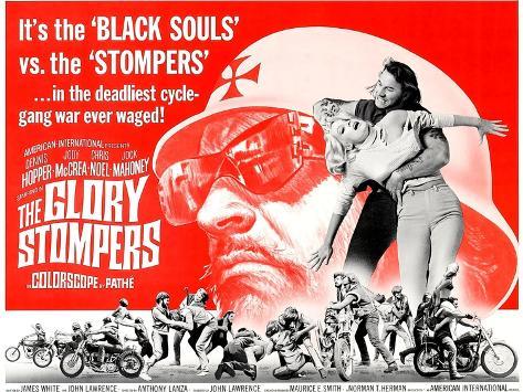 The Glory Stompers, Dennis Hopper, 1968 Kunstdruck