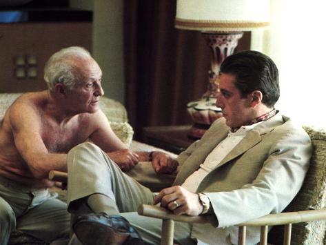The Godfather: Part II, Lee Strasberg, Al Pacino, 1974 Foto