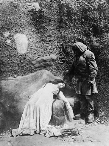 The Golem, 1920 (Der Golem, Wie Er in Die Welt Kam) Fotografie-Druck