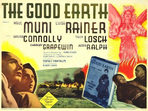 The Good Earth, 1962 Kunstdruk