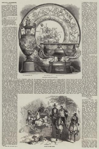 The Goodwood Race, 1859 Giclée-Druck