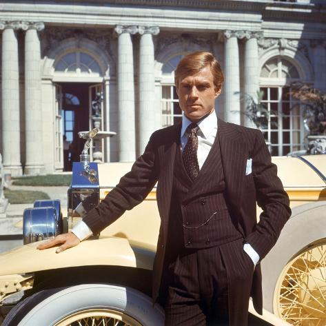The Great Gatsby, Robert Redford, 1974 Foto