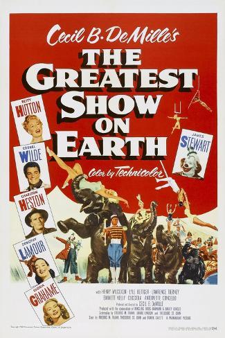 The Greatest Show on Earth, 1952 Kunstdruck