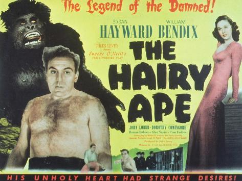 The Hairy Ape, 1944 Kunstdruk