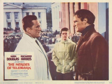 The Heroes of Telemark, 1966 Kunstdruck